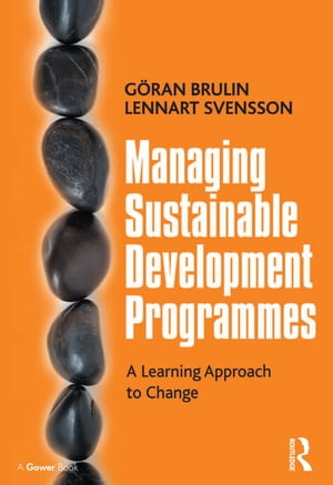 Managing Sustainable Development Programmes A Learning Approach to Change