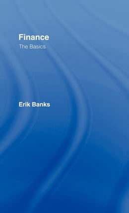 Book Finance: the basics by Banks, Erik