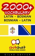 2000+ Vocabulary Latin - Bosnian