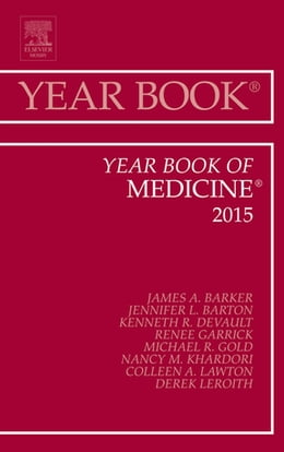 Book Year Book of Medicine 2015, by James A Barker