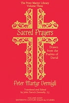 Sacred Prayers Drawn from the Psalms of David by John Patrick Donnelly
