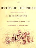 1230000208116 - Gustave Doré, Illustrator, M. Schele de Vere, Translator, X.B. Saintine: Myths of the Rhine - Книга