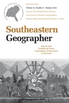 Carolina del Norte: Geographies of Latinization in the South by Robert Brinkmann