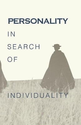 Book Personality in Search of Individuality: In Search of Individuality by Brody, Nathan
