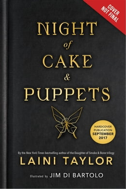 Book Night of Cake & Puppets by Laini Taylor