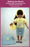 Walking the Beach, Knitting Patterns fit American Girl and other 18-Inch Dolls fe1feb17-0afd-4565-b7e9-c890e954a78a