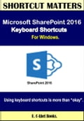 Microsoft SharePoint 2016 Keyboard Shortcuts For Windows Deal