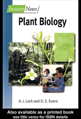 Book Instant Notes in Plant Biology by Lack, Andrew