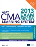 Wiley CMA Learning System Exam Review 2013, Complete Set, Online Intensive Review + Test Bank f88a9a14-1550-461b-9919-9254d73961b5