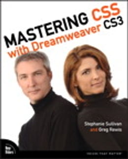 Book Mastering CSS with Dreamweaver CS3 by Stephanie Sullivan