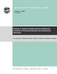 Policies to Address Banking Sector Weakness: Evolution of Financial Markets and Institutional…