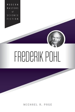 Book Frederik Pohl by Michael R Page