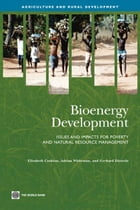 Bioenergy Development: Issues And Impacts For Poverty And Natural Resource Management by Cushion Elizabeth; Whiteman Adrian; Dieterle Gerhard