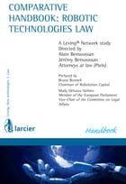 Comparative handbook: robotic technologies law by Alain Bensoussan