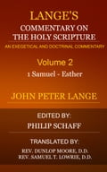 Langes Commentary on the Holy Scripture, Volume 2