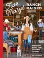 Five Marys Ranch Raised Cookbook Cover Image