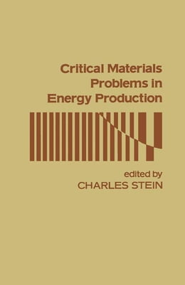 Book Critical Materials Problems In Energy Production by Stein, Charles