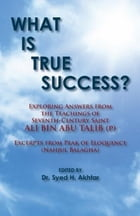 What is True Success? (Annotated): Exploring Answers From the Teachings of Ali Bin Abu Talib (p) by Ali bin Abu Talib (p)
