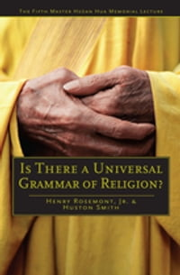 Is There a Universal Grammar of Religion?