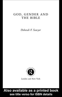 God, Gender and the Bible