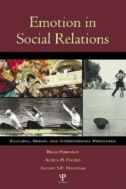 Book Emotion in Social Relations by Parkinson, Brian, Etc