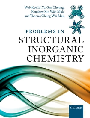 Problems in Structural Inorganic Chemistry