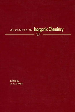 Book Advances in Inorganic Chemistry by Sykes, A. G.