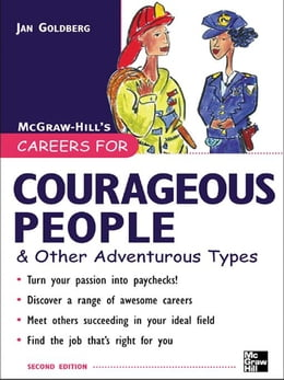 Book Careers for Courageous People & Other Adventurous Types by Goldberg, Jan