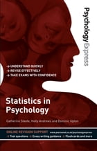 Psychology Express: Statistics in Psychology (Undergraduate Revision Guide) by Catherine Steele