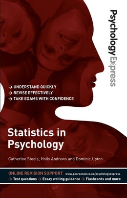 Book Psychology Express: Statistics in Psychology (Undergraduate Revision Guide) by Catherine Steele