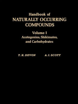 Book Handbook of Naturally Occurring Compounds V1 by Devon, T. K.