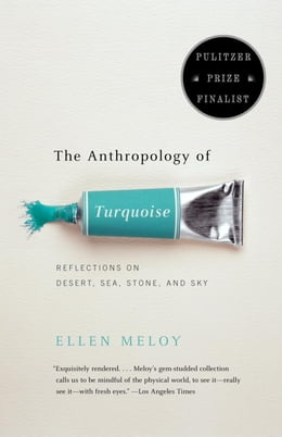 Book The Anthropology of Turquoise: Reflections on Desert, Sea, Stone, and Sky by Ellen Meloy