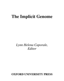 Book The Implicit Genome by Lynn Helena Caporale