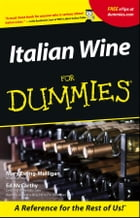 Italian Wine For Dummies by Mary Ewing-Mulligan