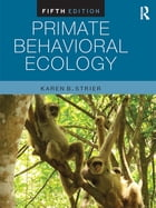 Primate Behavioral Ecology