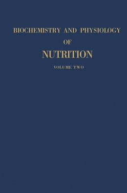 Book Biochemistry And Physiology of Nutrition by Bourne, Geoffrey