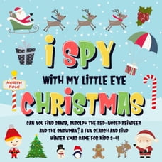 I Spy With My Little Eye - Christmas | Can You Find Santa, Rudolph the Red-Nosed Reindeer and the…
