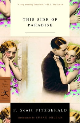 Book This Side of Paradise by F. Scott Fitzgerald