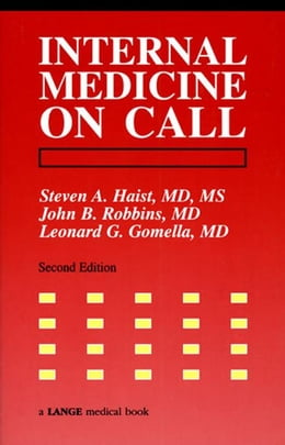 Book Internal Medicine On Call by Haist, Steven