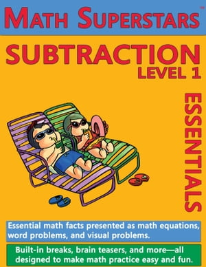 Math Superstars Subtraction Level 1