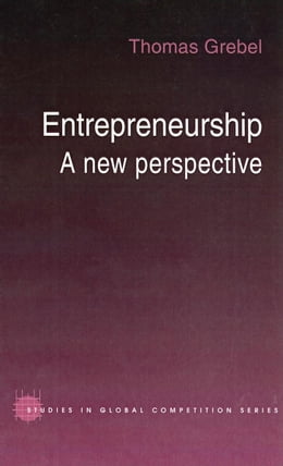 Book Entrepreneurship by Grebel, Thomas