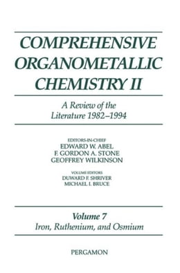 Book Iron, Ruthenium and Osmium: A Review of the Literature 1982-1994 by Schriver, D.F.