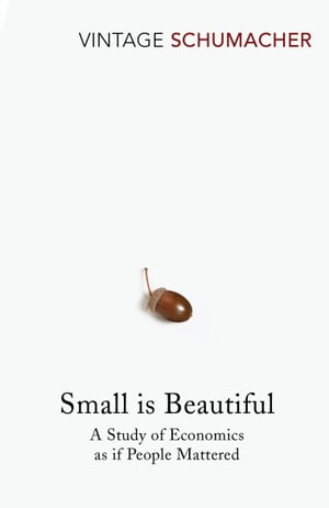 Small Is Beautiful A Study of Economics as if People Mattered