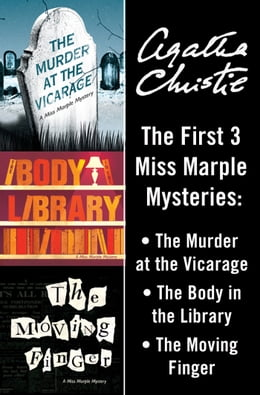 Book Miss Marple Bundle: The Murder at the Vicarage, The Body in the Library, and The Moving Finger by Agatha Christie