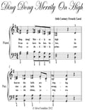 Ding Dong Merrily On High Elementary Piano Sheet Music 0c7f631f-9958-4c89-a8d4-e02bbea31457