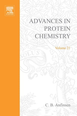 Book Advances in Protein Chemistry by Anfinsen, C.B.