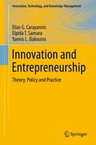 Innovation and Entrepreneurship: Theory, Policy and Practice