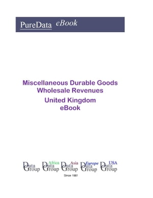 Miscellaneous Durable Goods Wholesale Revenues in the United Kingdom