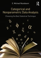 Categorical and Nonparametric Data Analysis