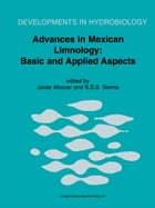 Advances in Mexican Limnology: Basic and Applied Aspects by Javier Alcocer